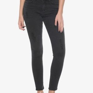 Hot Topic Blackheart Distressed Jeans/Jeggings